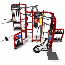 Grupo de treinamento fitness ginásio equipamento Synrgy360
