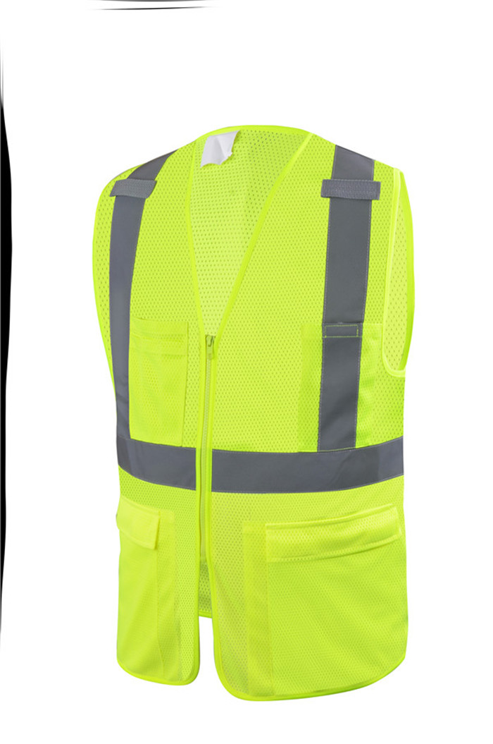 Customized EN ISO20471 Traffic Safety Vest