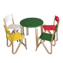 Colorful Garden Furniture Set for Kids, Wooden Toy Table and Chair Toy for Children, Best Wooden Furniture Set for Baby Wj277588