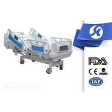 Portable Medical Electrical Hospital Bed With Control Panel
