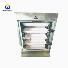 Transportador vertical de elevador de cangilones de alimentación tipo Z