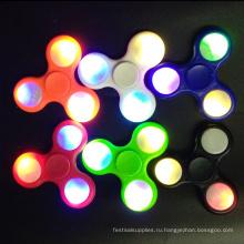Светодиодный проблесковый непоседа блесны дети ручной игрушки