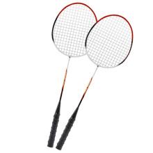 Raquetes de badminton esportivo de alta qualidade em fibra