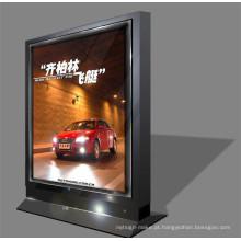 Placa acrílica de alumínio do sinal da propaganda da exposição do carro