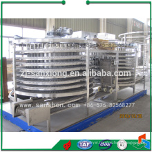 China Food Machinery Spiral Type Quick Freezing Equipment