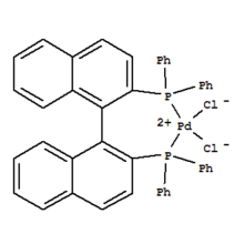 [(S)-(+)-2,2'-BIS(DIPHENYLPHOSPHINO)-1,1'-BINAPHTHYL]PALLADIUM(II) CAS 127593-28-6