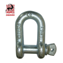 US Type hot dip galvanized screw pin dee anchor shackle