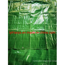 Weaving Fabric Polythylene Green PE Tarpaulin Cover