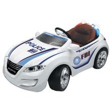 Emulation elektrische Polizeiwagen Kunststoff Kinder fahren auf Auto (10212989)