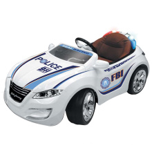 Emulación Electric Police Car Plastic Kids Ride en el coche (10212989)