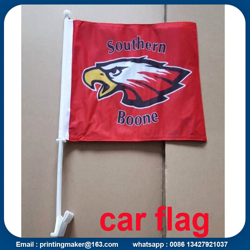 Car Advertising Flags