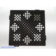 Folha de alumínio sólido usada para cortina de parede