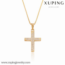 32292 Xuping циркон белый цвет крест формы кулон для Рождественских подарков