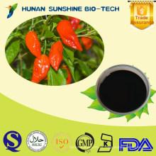 2015 Nuevo aceite de chile orgánico certificado del fantasma, pimiento de la oleorresina (OC) para el aerosol de pimienta