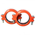 FM/UL Approved Ductile Iron Grooved Fitting Reducing Cross