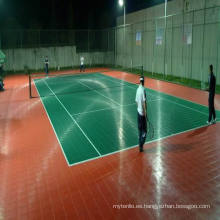 Suspendido Modular Interlock Futsal Sports Floor