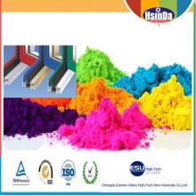Precio al por mayor Ral color y recubrimiento en polvo personalizado