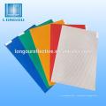 ruban adhésif transparent jaune et rouge autocollant réfléchissant vinyle