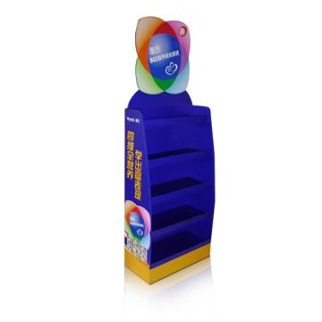 Advertising Acrylic Floor Display Shelf, Pop Acrylic Display Stand
