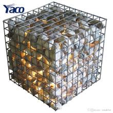 Лучшие продукты 304 сваренная стальная корзина gabion нержавеющей с 1*1*1м Размер