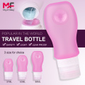 BPA+Free+Silicone+Shampoo+Cosmetic+Travel+Bottles