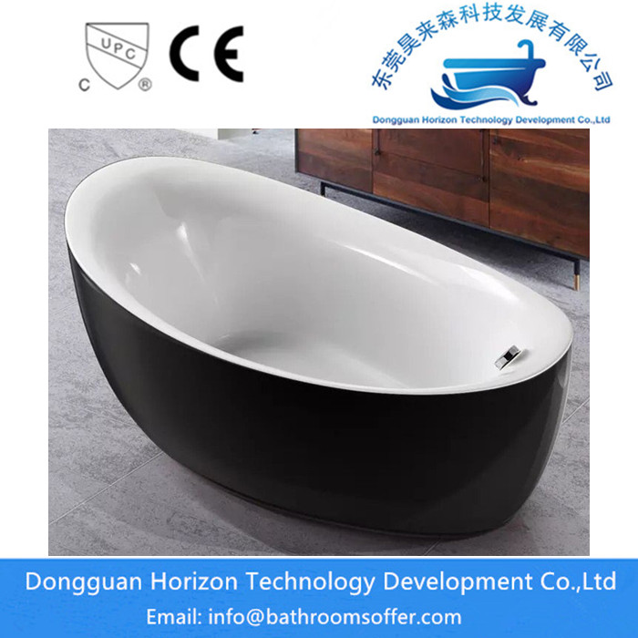 Black Acrylic Bathtubs