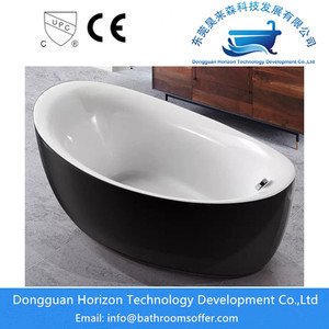 Black acrylic bathtubs free standing bath designs