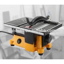 """100mm 4 """"90W Power Kleine Bank Säge Tragbare elektrische Modellierung Mini Tisch Säge"""