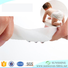Hydrophilic/ hydrophobic Non woven fabric for diaper