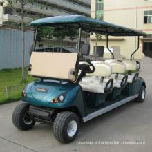 CE 6 Seaters 4kw carro de golfe elétrico com telhado (DG-C6)