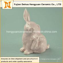 Figurines en lapin de lapin pour petits ornements