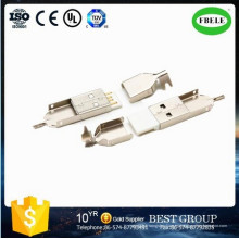 Conector macho Conector macho USB Mini Receptáculo (FBELE)