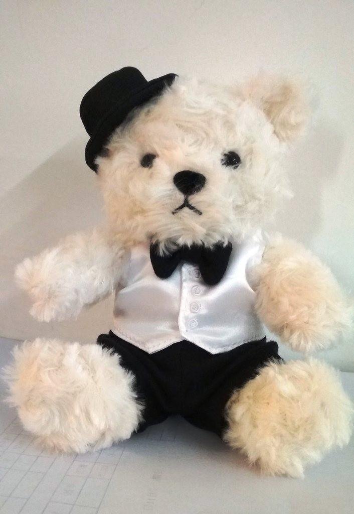 Gentleman Teddy Bear Plush Toy 1