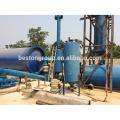 Segurança ambiental 10 T / D resíduos de plástico para óleo pequena máquina