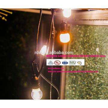 slt0198 непромокаемые праздник свадьба крытый Рождественские украшения RGB света шнура СИД с штепсельной вилкой США и ЕС