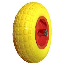 Желтый PU пены колесо FF3317
