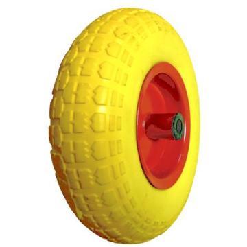 FF3317 de roue mousse PU jaune