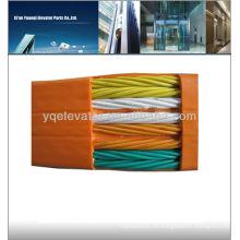 Piezas para ascensor cable plano, cable de elevación