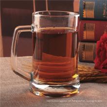 Beber copo de vidro para água e suco