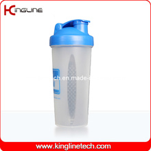 600ml Plastic Blender Shaker Flasche mit Blender Mixer Ball Inside (KL-7017)