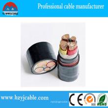 0.6 / 1kv Draht-Typen Kupfer-XLPE Isolierung PVC-Mantel-Energien-Kabel