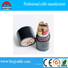 0.6/1kv Wire Types Copper XLPE Insulation PVC Sheath Power Cable