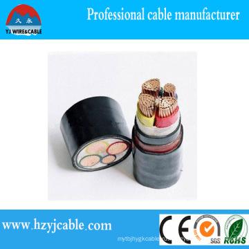 Кабель питания XLPE изолированный медный кабель силового кабеля