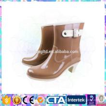 Популярная женская обувь на высоком каблуке, водонепроницаемая