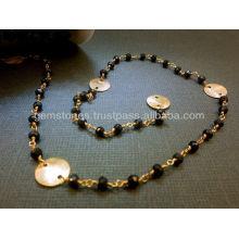 Atacado Cadeias com grânulos Cadeias de pérolas com pedras preciosas Fornecedor de pedras de grânulos de alta qualidade
