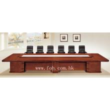 Muebles de oficina clásicos Madera de chapa de madera Mesa de conferencia de MDF Mesa de reuniones Tabla de reuniones Ejecutiva (FOHSC-6041)