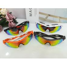 Proteção UV Semi-Rimless Sun Glasses Fashion Accessories