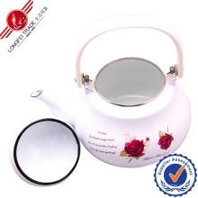 2L Enamel Teapot with Bakelite Handle