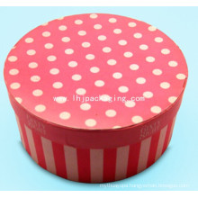 High Quality Round Cosmetic Packaging Gift Box