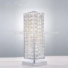 candeeiro de mesa de cristal para decoração de casa
